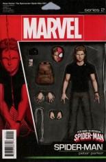 Peter Parker: The Spectacular Spider-Man (2017-2018) #1 Variant D: Action Figure Variant