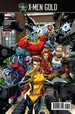 X-Men: Gold (2017-2018) #7 Variant A
