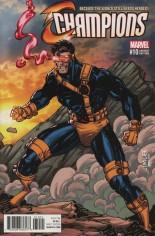 Champions (2016) #10 Variant B: X-Men Card Variant