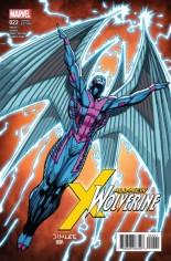 All-New Wolverine (2016-2018) #22 Variant B: X-Men Card Variant