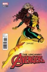 Uncanny Avengers (2015-Present) #25 Variant B: X-Men Card Variant