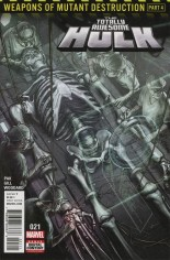 Totally Awesome Hulk #21 Variant A