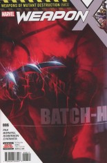 Weapon X (2017-Present) #6 Variant A