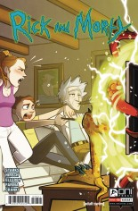 Rick and Morty (2015-Present) #28 Variant B: Incentive Variant St Onge
