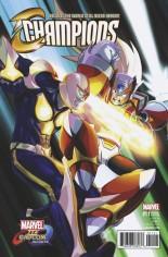 Champions (2016) #11 Variant B: Marvel Vs Capcom Variant