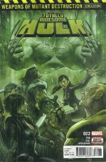 Totally Awesome Hulk #22 Variant A