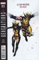 Generations Wolverine & All-New Wolverine #1 Variant B