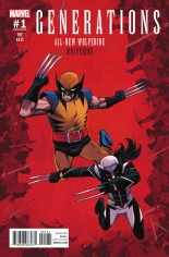 Generations Wolverine & All-New Wolverine #1 Variant C