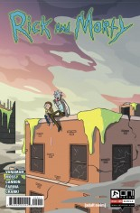 Rick and Morty (2015-Present) #29 Variant A