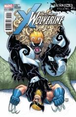 All-New Wolverine (2016-2018) #24 Variant B: Venomized Sabretooth Variant