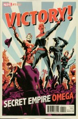 Secret Empire Omega #1 Variant B