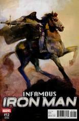 Infamous Iron Man (2016-Present) #12 Variant B