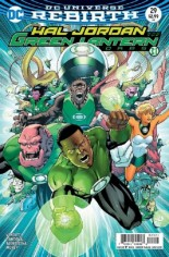 Hal Jordan And The Green Lantern Corps (2016-Present) #29 Variant B