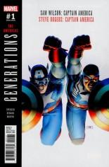 Generations Captain Americas #1 Variant B