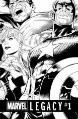 Marvel Legacy (2017) #1 Variant K: B&W Variant