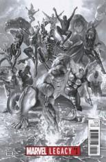 Marvel Legacy (2017) #1 Variant G: B&W Variant