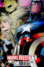 Marvel Legacy (2017) #1 Variant J: Lenticular Variant