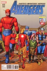 Avengers (2017-2018) #672 Variant D: Kirby 100 Variant