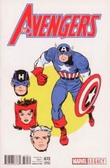 Avengers (2017-2018) #672 Variant C: 1965 T-shirt Variant