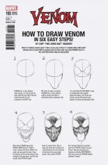 Venom (2017-2018) #155 Variant F: How To Draw Variant