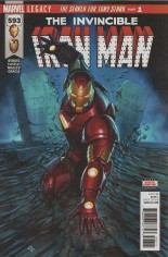 Invincible Iron Man (2017-Present) #593 Variant A