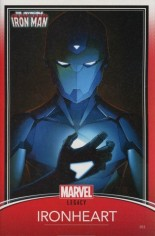 Invincible Iron Man (2017-Present) #593 Variant D: Trading Card Variant