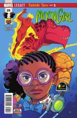 Moon Girl And Devil Dinosaur (2016-Present) #25 Variant A