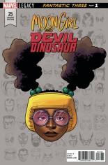 Moon Girl And Devil Dinosaur (2016-Present) #25 Variant C: Legacy Headshot Variant