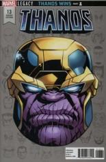 Thanos (2017-Present) #13 Variant C: Legacy Headshot Variant