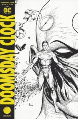 Doomsday Clock #1 Variant D: 11:57 PM Release Variant