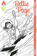 Bettie Page (2017) #5 Variant D: 10 Copy B&W Incentive