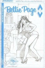 Bettie Page (2017) #1 Variant N: Limited Edition B&W Cover