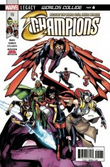 Champions (2016) #15 Variant A