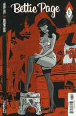Bettie Page (2017) #6 Variant B