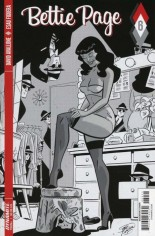 Bettie Page (2017) #6 Variant D: 10 Copy B&W Incentive