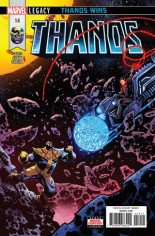 Thanos (2017-2018) #14 Variant A