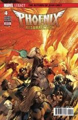 Phoenix Resurrection: Return of Jean Grey #4 Variant A