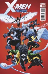 X-Men: Blue (2017-2018) #Annual 1 Variant D: Venomized Variant