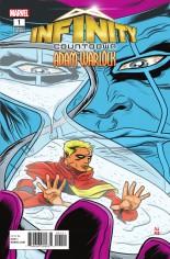 Infinity Countdown: Adam Warlock #1 Variant B