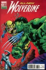 All-New Wolverine (2016-Present) #31 Variant B: Hulk Variant