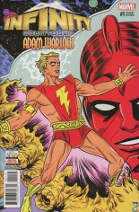 Infinity Countdown: Adam Warlock #1 Variant C: 2nd Printing