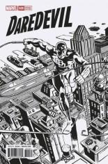 Daredevil (2017-2019) #600 Variant I: Frank Miller Remastered B&w Variant