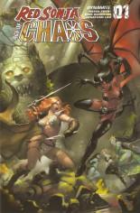 Red Sonja: Age Of Chaos (2020) #1 Variant U: Bonus FOC Variant
