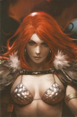 Red Sonja: Age Of Chaos (2020) #1 Variant Y: 11 Copy Incentive Sneak Peek Virgin Cover
