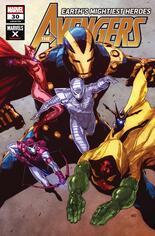Avengers (2018-2021) #30 Variant B: Marvel X Cover