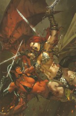 Red Sonja: Age Of Chaos (2020) #1 Variant ZH: Unknown Comic Books Exclusive
