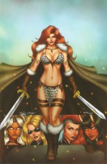 Red Sonja: Age Of Chaos (2020) #1 Variant ZI: Unknown Comic Books Exclusive
