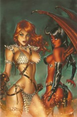Red Sonja: Age Of Chaos (2020) #1 Variant ZK: Comic Connection Exclusive