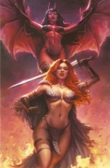 Red Sonja: Age Of Chaos (2020) #1 Variant ZL: Sad Lemon Comics Exclusive