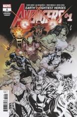 Avengers (2018-2020) #1 Variant E: Incentive Premiere Variant